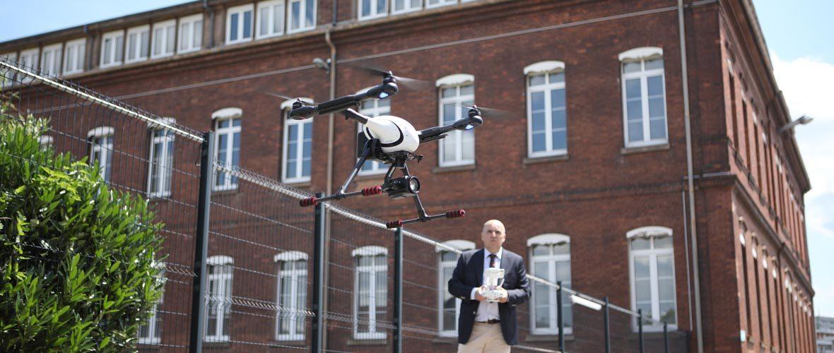 Mulhouse, future capitale des métiers des drones | M+ Mulhouse