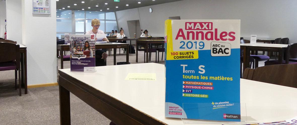 Bac: et si vous révisiez dans les bibliothèques? | M+ Mulhouse