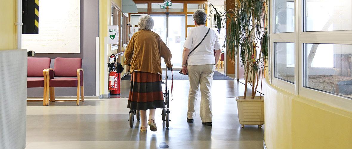 Ehpad: un système anti-errance pour la sécurité des seniors vulnérables | M+ Mulhouse