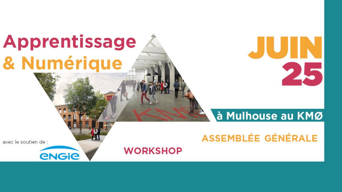 [FACE Alsace] Apprentissage et Numérique : le mardi 25 juin au KM0