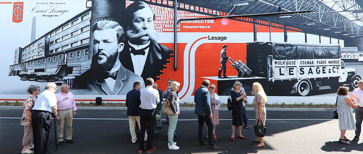 Tuilerie: une fresque pour «rendre hommage à ceux qui nous ont précédés» | M+ Mulhouse