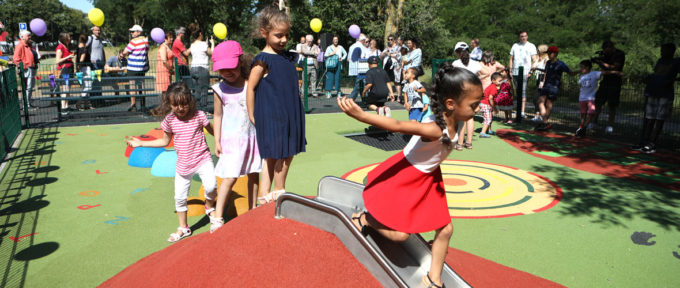Mulhouse Diagonales : les tout-petits ont leur aire de jeux