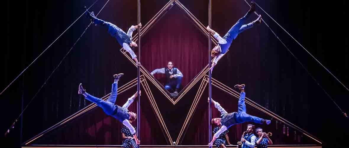 Hôtel avec le Cirque Éloize
