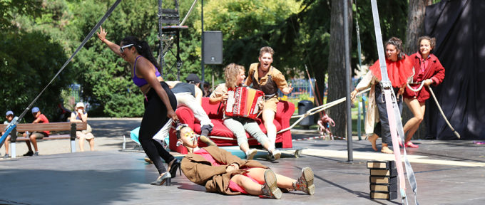 Mulhouse à l'heure du festival Scènes de rue