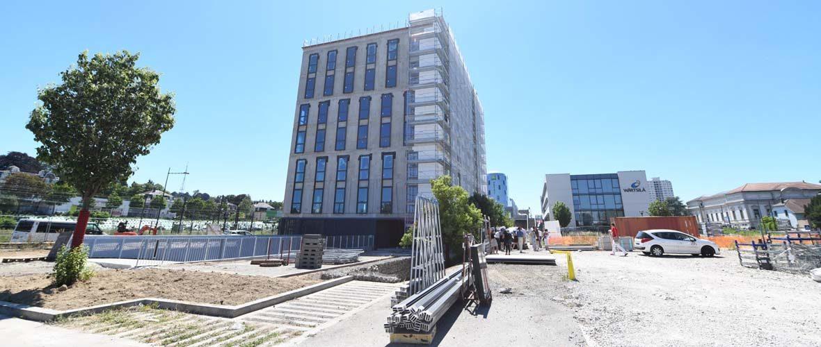 Quartier d'affaires Gare: un immeuble de bureaux de plus de 3100 m²  | M+ Mulhouse
