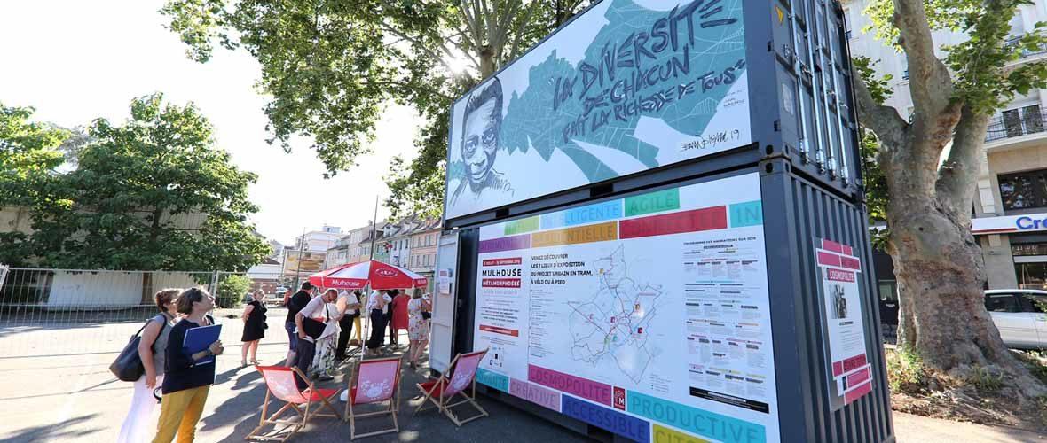 «Mulhouse Métamorphoses»: une balade expo pour (re)découvrir la ville | M+ Mulhouse