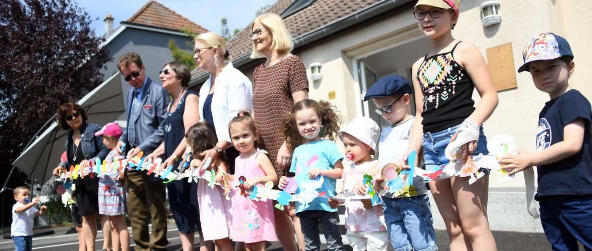 Le Relais d'assistantes maternelles Mulhouse Bourtzwiller dans ses nouveaux locaux | M+ Mulhouse