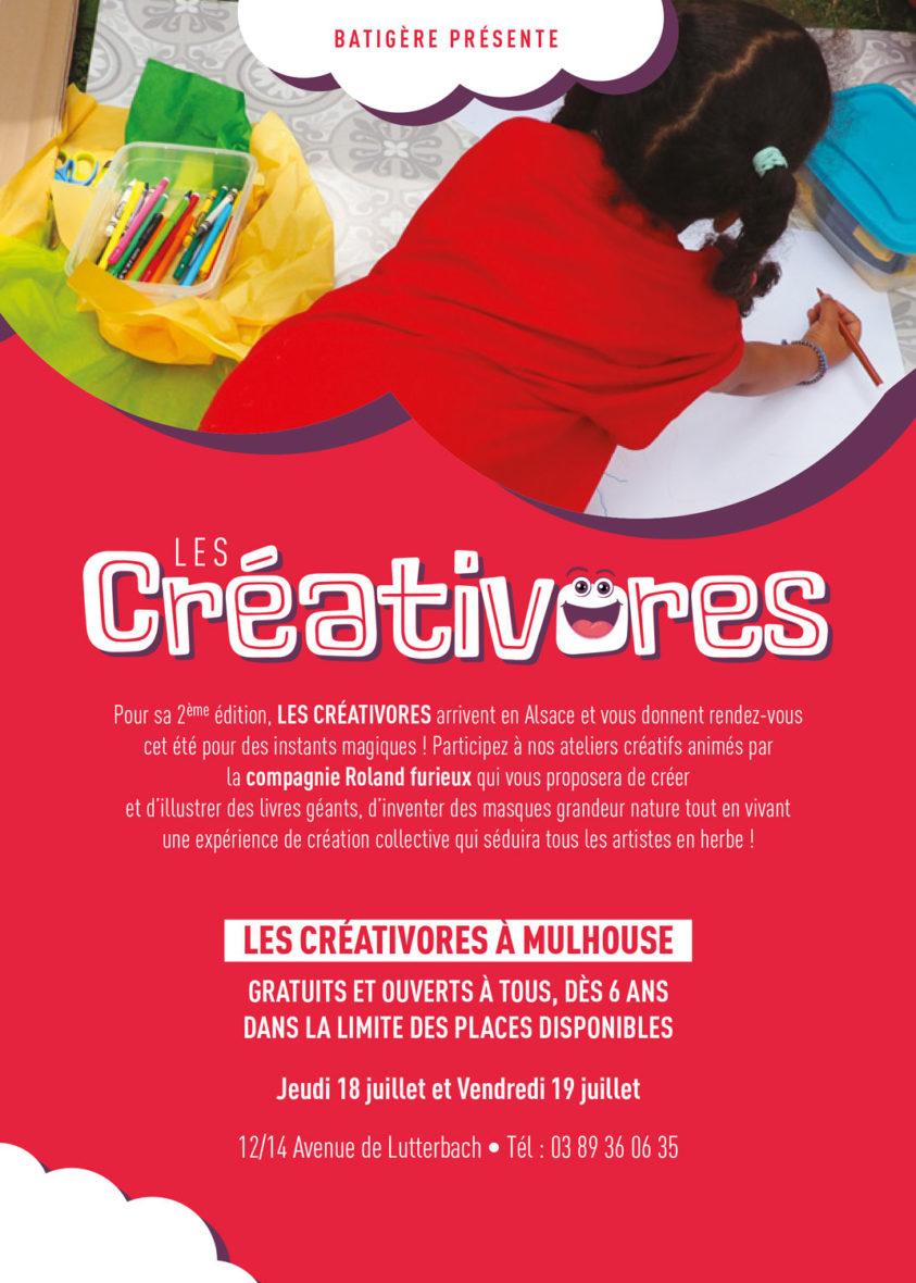 Les créativores : ateliers artistiques