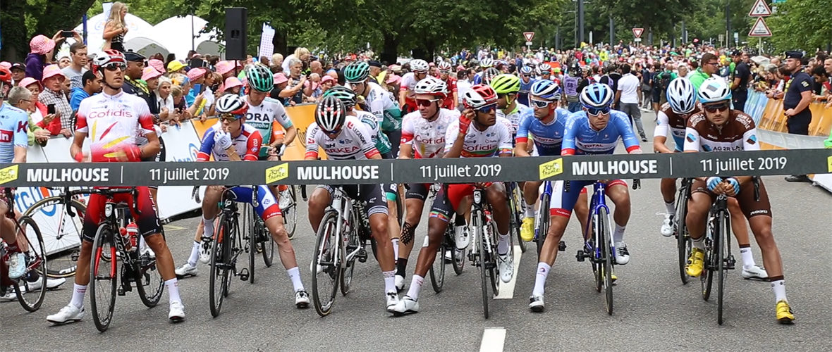 [VIDEO] Mulhouse, capitale du jour du Tour de France ! | M+ Mulhouse