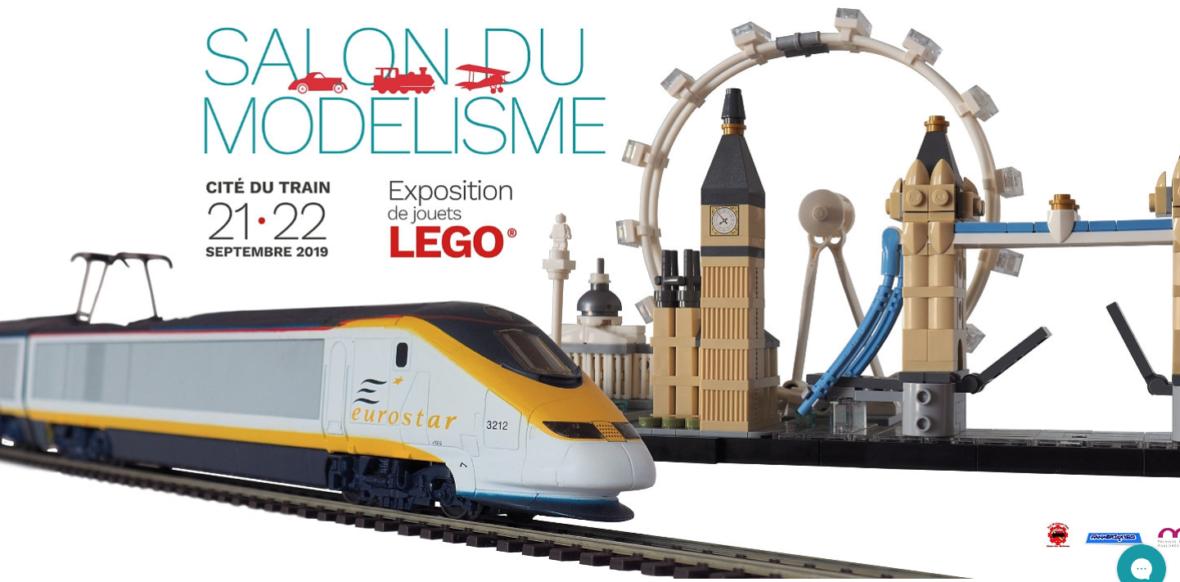 """""""Salon du modélisme - Exposition de jouets Lego®"""""""