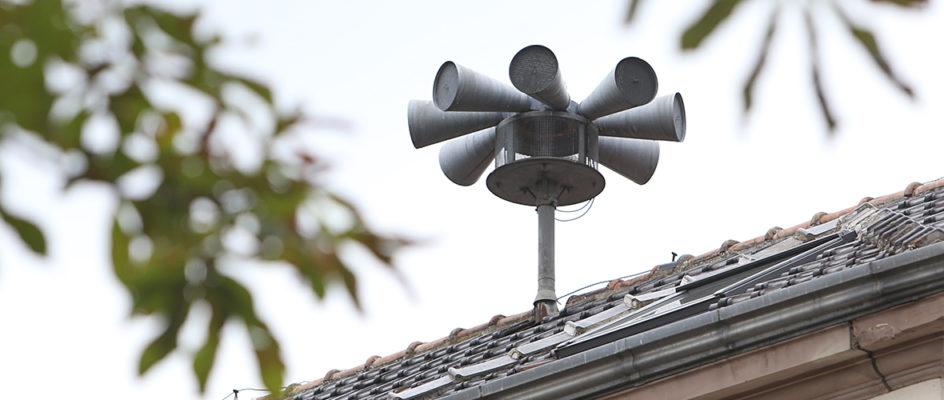 Test des sirènes à Mulhouse: pas de panique!