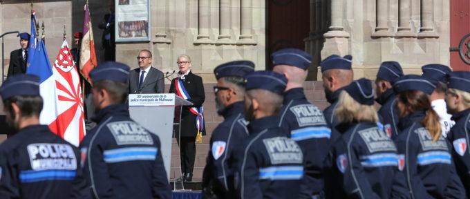 Sécurité : les 30 ans de la police municipale de Mulhouse