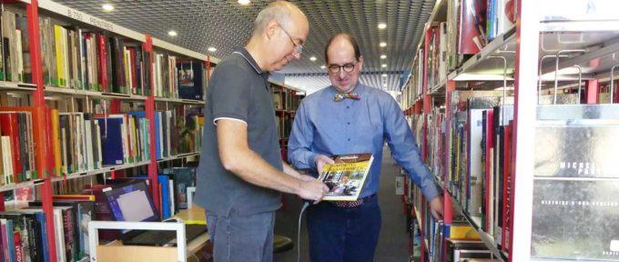 Inventaire: les bibliothèques mulhousiennes se mettent à la page