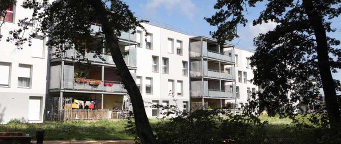 Bourtzwiller: 106 logements réhabilités, rue de Bordeaux