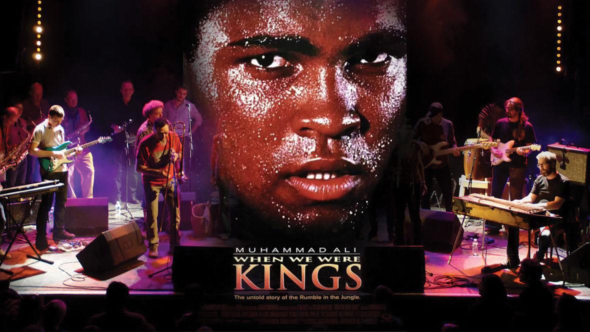 """Ciné-concert """"When we were kings"""""""