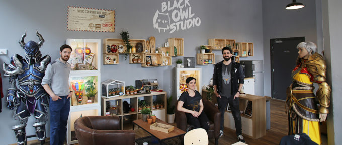 Black Owl Studio : la créativité au service de l'imaginaire, sur le site DMC