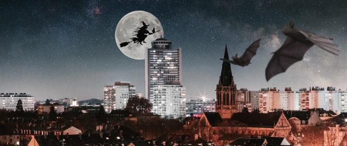 Mulhouse à l'heure d'Halloween