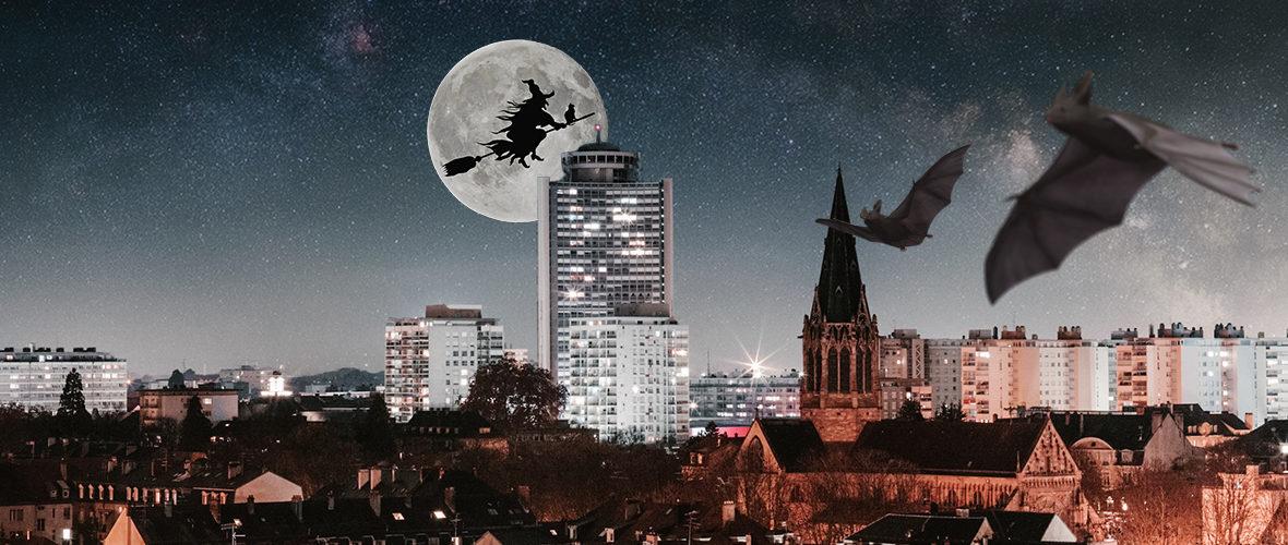 Mulhouse à l'heure d'Halloween | M+ Mulhouse