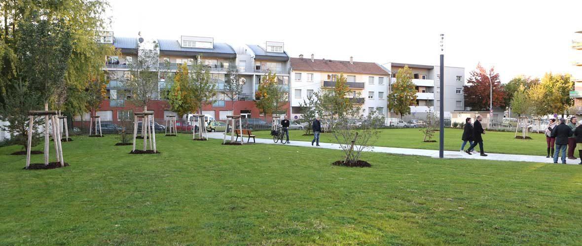 Neppert: un nouveau parc public de proximité | M+ Mulhouse