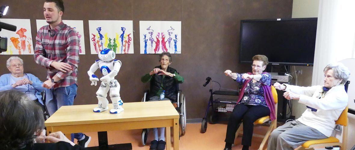 Seniors: le robot Zora débarque dans deux Ehpad mulhousiens! | M+ Mulhouse