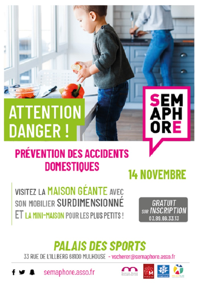 Attention Danger : prévention des accidents domestiques