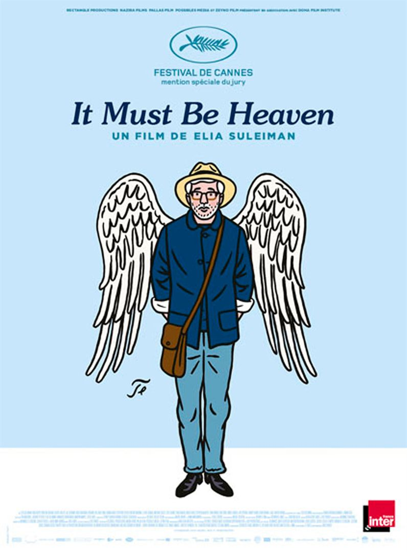 "Projection ""It must be heaven"" + rencontre"