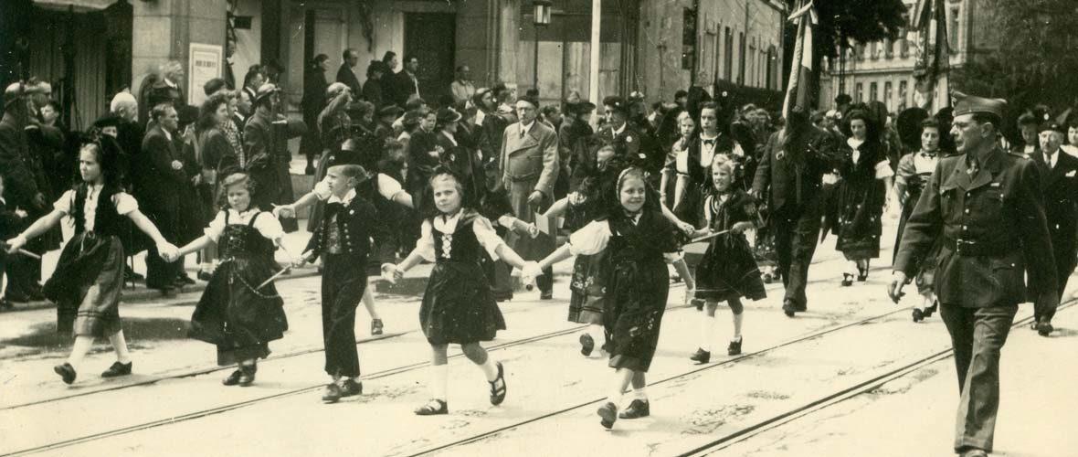 Célébration du 75e anniversaire de la Libération de Mulhouse