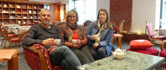 Musée de l'impression sur étoffes : un marché de Noël et un salon de thé pour une nouvelle histoire