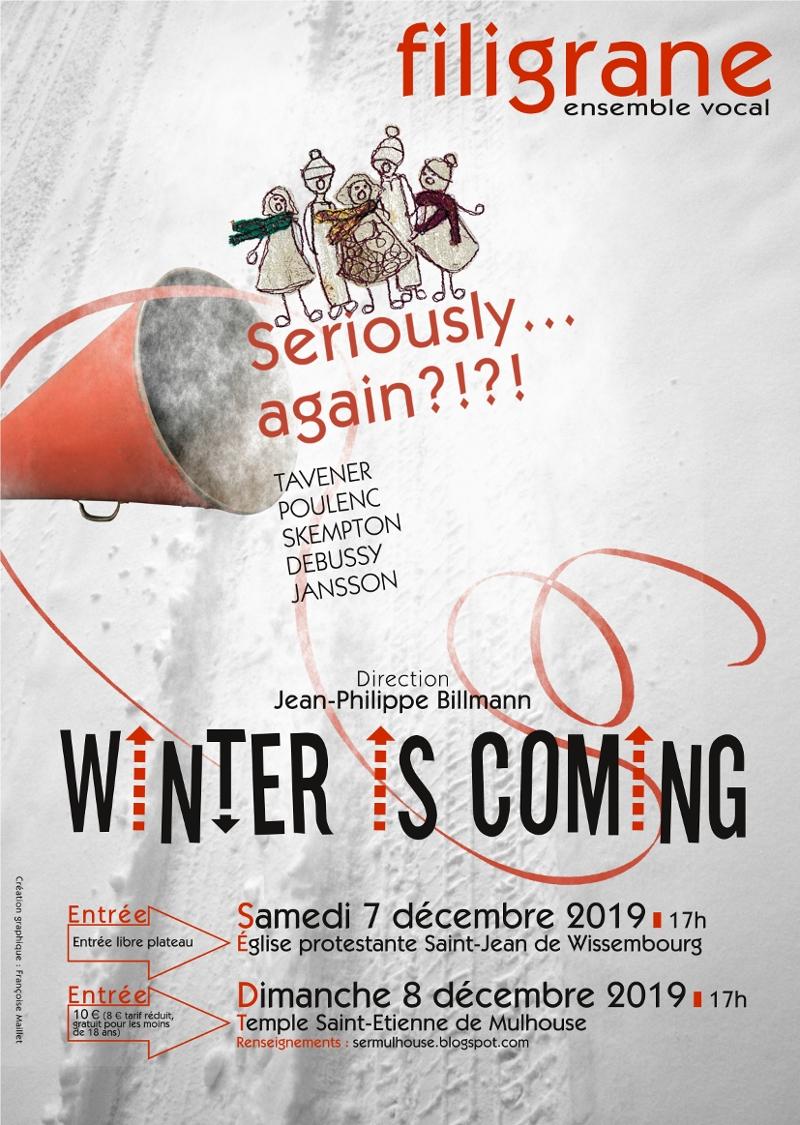 Winter is coming au Festival de l'Avent