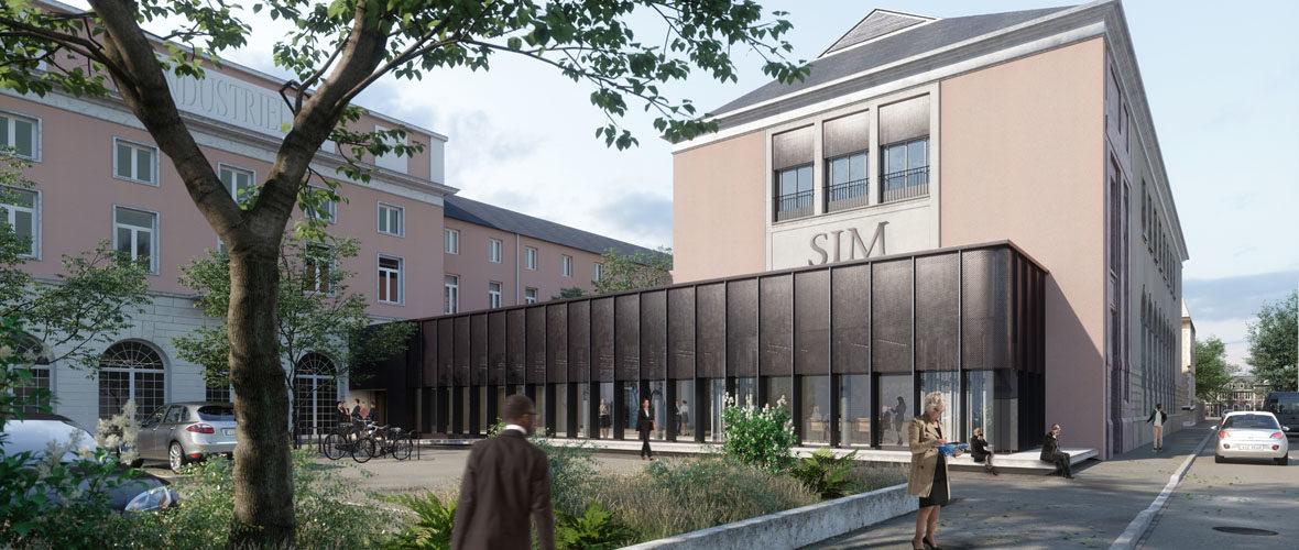 Quartier Gare : un nouveau centre de conférences à la SIM | M+ Mulhouse