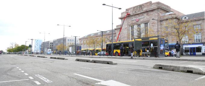 Secteur Gare: la dalle démolie en 2020