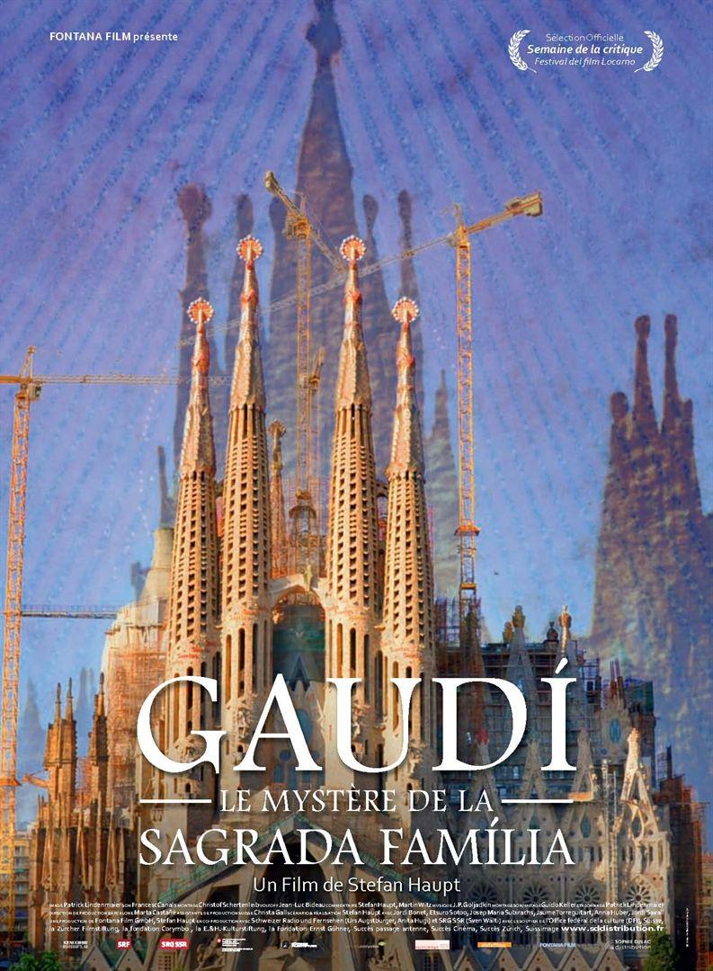 """Festival Les Vagamondes : projection de """"Gaudi, le mystère de la Sagrada Familia """""""