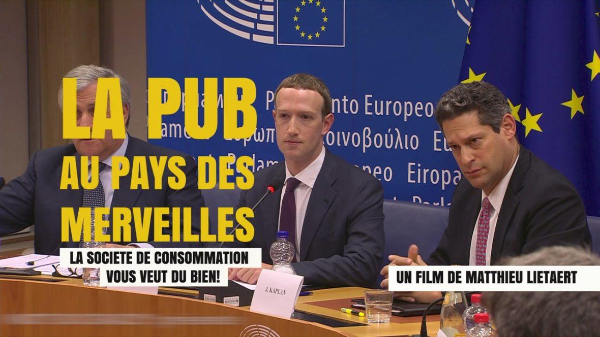 """Projection """" La pub au pays des merveilles"""" + rencontre avec l'association Résistance à l'agression publicitaire"""
