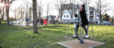 Mulhouse Diagonales: des agrès sportifs pour le bien-être de tous à Bourtzwiller
