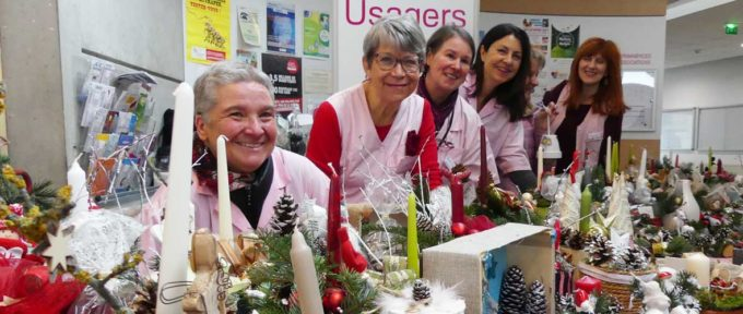 Les Dames en rose mobilisées pour les enfants hospitalisés