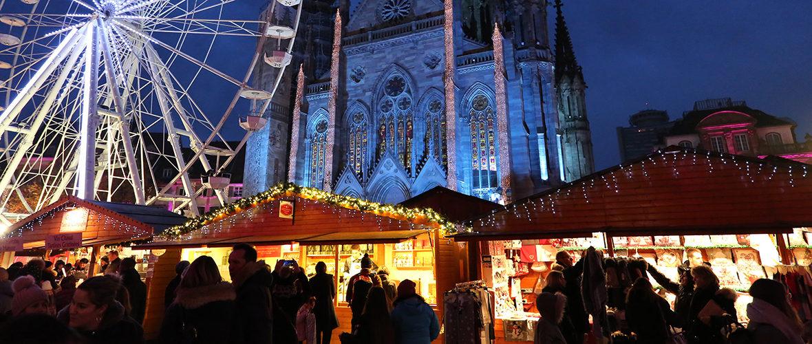 Marché de Noël: «ici, on a une clientèle fidèle» | M+ Mulhouse