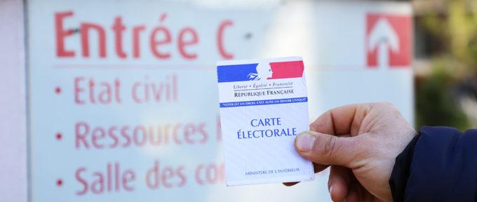 Elections municipales: inscriptions sur les listes électorales jusqu'au 7 février