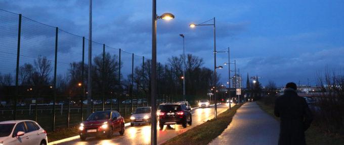 Mulhouse-Brunstatt: lumière sur le chemin des Cordiers et la rue Pierre de Coubertin