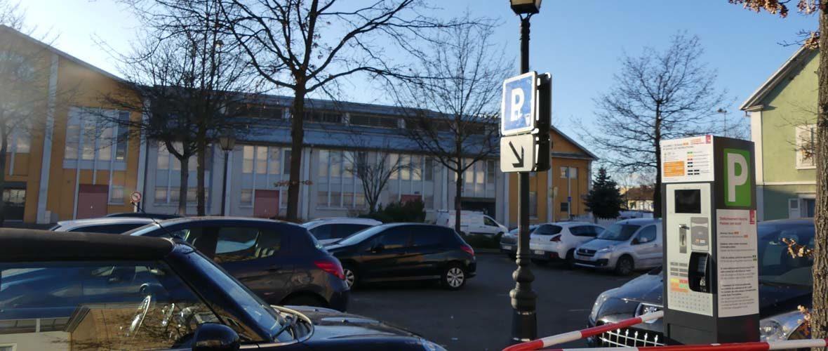 Stationnement: des horodateurs nouvelle génération sur les parkings du Marché du Canal couvert | M+ Mulhouse