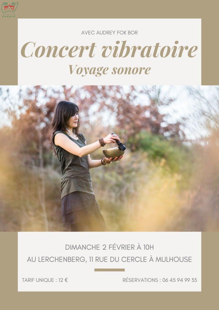 Concert vibratoire - voyage sonore