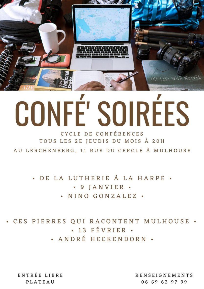 Confé' Soirées - Ces pierres qui racontent Mulhouse