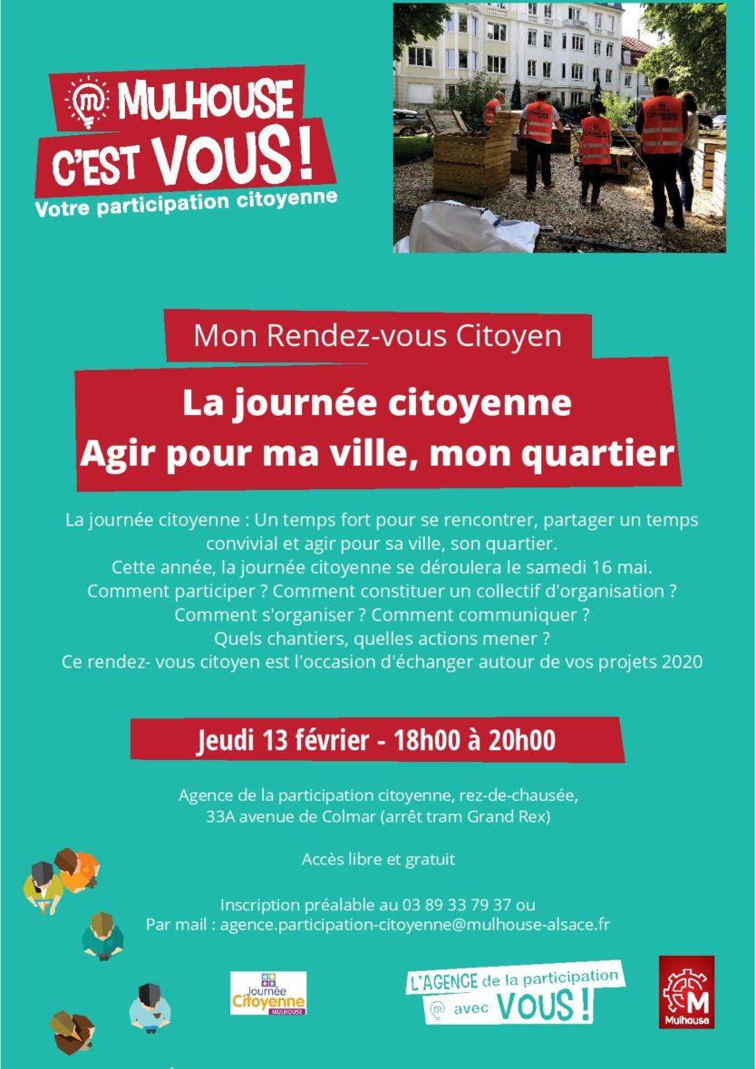 RDV Citoyen : la journée citoyenne, agir pour ma ville, mon quartier