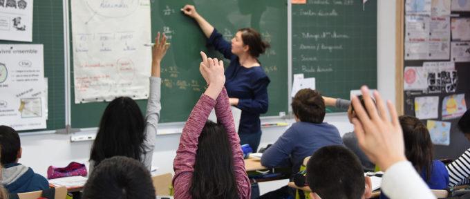 Inscriptions dans les écoles: c'est parti!