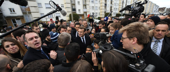 Le président de la République à Mulhouse