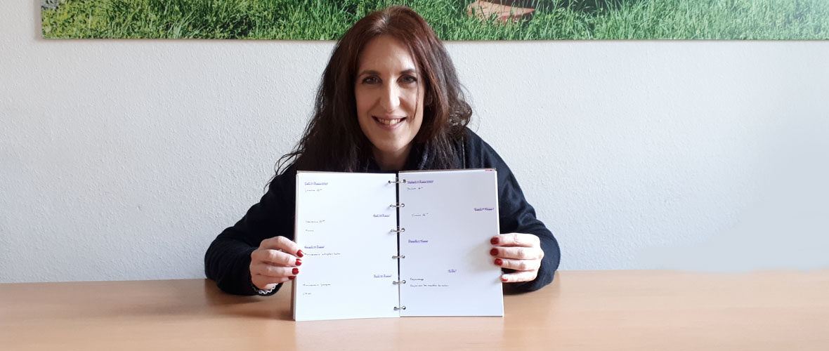 La Mulhousienne Rachel Frey (ré)invente l'agenda 100% personnalisable | M+ Mulhouse