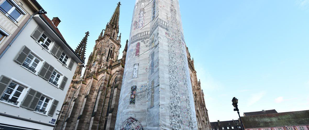 Des travaux de rénovation à la démesure du Temple Saint-Etienne | M+ Mulhouse