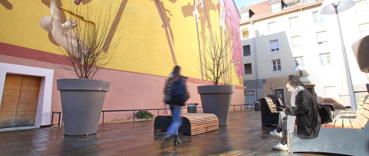La nouvelle vie de la place Dreyfus | M+ Mulhouse