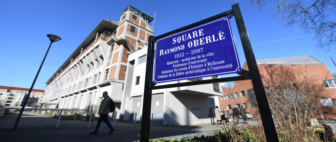 Un square Raymond Oberlé à la Fonderie