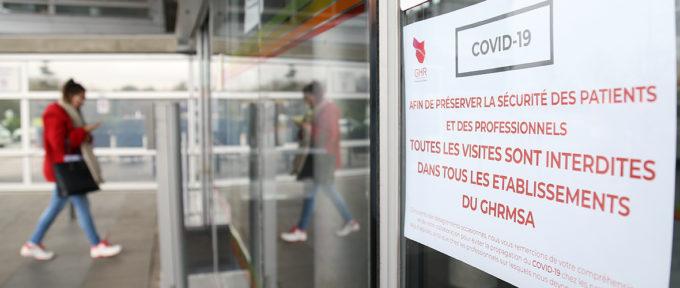 Coronavirus: le GHR Mulhouse Sud-Alsace mobilisé