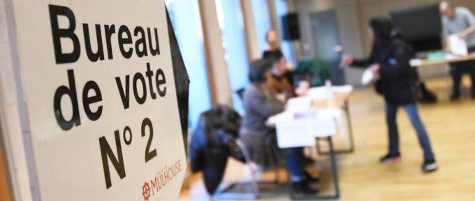 Les résultats du 1er tour des élections municipales de Mulhouse